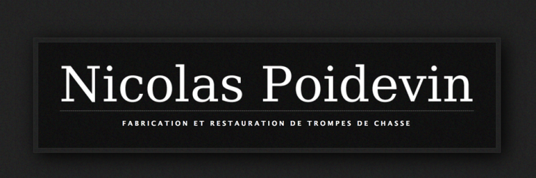 Trompes de chasse - Nicolas Poidevin